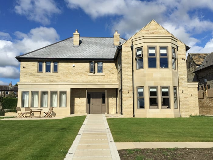 Rand asquith natural stone from our yorkshire stone for Modern house yorkshire